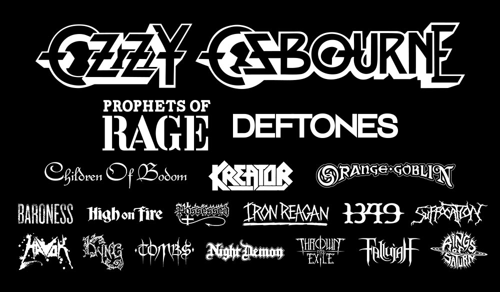 Ozzfest 2017 Lineup
