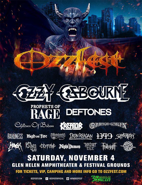 2017 Ozzfest - San Bernardino, California